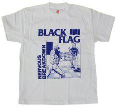 fa2ff51a7fcfb4 Black Flag - Nervous Breakdown T-Shirt | SST Superstore Band Merch, Band  Shirts