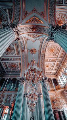 Baroque Architecture, Classic Architecture, Beautiful Architecture, Beautiful Buildings, Architecture Tumblr, Aesthetic Pastel Wallpaper, Aesthetic Backgrounds, Aesthetic Wallpapers, City Aesthetic