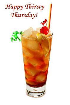 Thirsty Thursdays Drink Specials