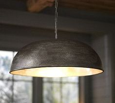 I would like this light above my kitchen sink.  Townsend Oversized Hammered Pendant #potterybarn