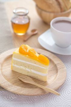 Mandarin Milk Cake by phat_zap