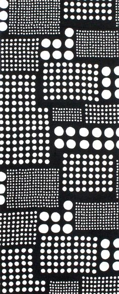 Japanese washcloth, Tenugui 水玉 Polka dots More