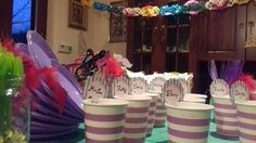 My birthday mask party!! #maskparty #carnival #partyideas #jar