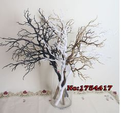 "AE09061 artificial wedding centerpiece tree branches 37"" artificial branches christmas tree decoration free shipping"