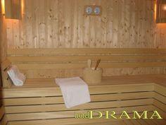 При нас можете да се насладите и отпуснете в Сауната,който предлага Хотел Драма. Toilet Paper, Personal Care, Self Care, Personal Hygiene, Toilet Paper Roll