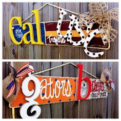 "30"" Custom House Divided Barn Wood Signs. $55.00, via Etsy."