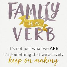 Between my sister, hubby, mom, dad and everyone in between I am so lucky to have an amazing support system. #Vocalpoint #Quote #Family