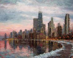 Eugene Paprocki 1971 ~ American painter | The impressionist city