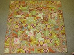 Amy Butler baby quilt.  Has no owner.