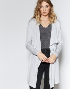 Shop and buy the latest in women's fashion and clothing online at Glassons.com. Check out this Waterfall Belted Cardi - A beautiful drapey waterfall cardigan, featuring a belted waist with ties at the front.