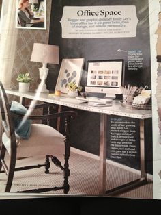 stylist design better homes and gardens desk. Better Homes and Gardens Sept DIY desk from old door  paint ribbon nailhead trim IKEA legs The Many Uses of the Mighty Helmer Apartment therapy