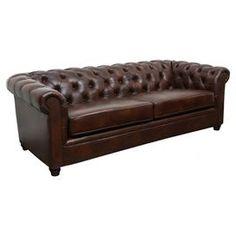 Arcadia Leather Sofa