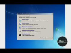 How to Backup and Restore the Windows 7 Registry by Britec - YouTube