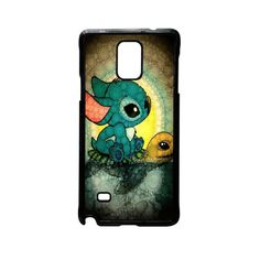 Disney Stitch and Turtle for Samsung Galaxy and HTC Case