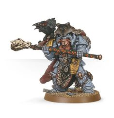 Njal Stormcaller in Terminator Armor: Njal Stormcaller is one of the Space Wolves greatest Rune Priests and is among the greatest Librarians in the Imperium.