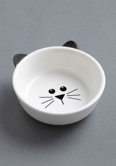 Mew Plate Special Pet Bowl, #ModCloth