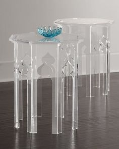 Illustration of Acrylic Accent Table Product Variants