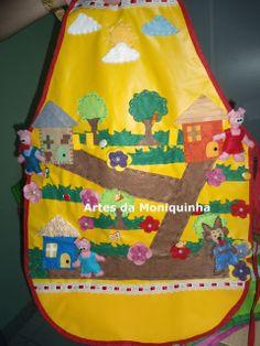 AVENTAIS DE HISTÓRIA | artesdamoniquinha