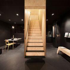Bazar Noir staircase by Hidden Fortress