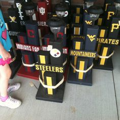 Here we go Steelers, here we go! (And the Mountaineers and Pirates)