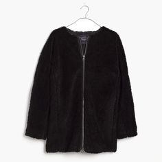 Madewell Sherpa Coat Brand new never worn! Sold out on site. Madewell Jackets & Coats
