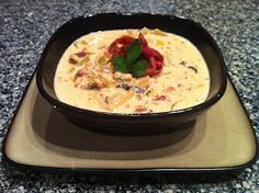 Low Carb: Chicken Bacon Crock Pot Chowder--i'll leave out the cream cheese probably and swap the cream for coconut cream
