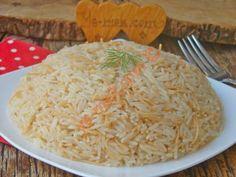 Perde Pilavı Tarifi, Nasıl Yapılır? (Resimli)   Yemek Tarifleri Turkish Recipes, Ethnic Recipes, Turkish Kitchen, Food Art, Kitchen Design, Food And Drink, Cooking, Easy, Kitchens