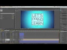 ▶ Spin Like a Rubick's Cube - An Adobe After Effects Tutorial - YouTube