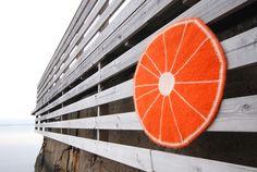 Oppskrift på appelsin-sitteunderlag – Statistrikk Ferris Wheel, Fair Grounds, Big Wheel