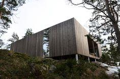 Casa Quadrada Veierland / Reiulf Ramstad Arkitekter AS