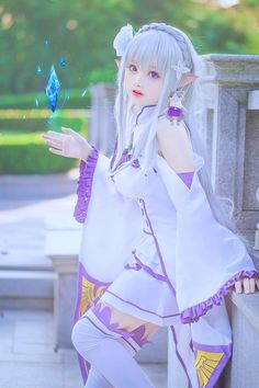 Emilia-chan Cosplay - COSPLAY IS BAEEE! Tap the pin now to grab yourself some BAE Cosplay leggings and shirts! From super hero fitness leggings, super hero fitness shirts, and so much more that wil make you say YASSS! Kawaii Cosplay, Cosplay Anime, Epic Cosplay, Cute Cosplay, Amazing Cosplay, Cosplay Outfits, Cosplay Wigs, Kawaii Anime, Kawaii Girl