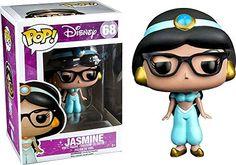Funko Pop Disney: Hipster Jasmine Exclusive Vinyl Figure