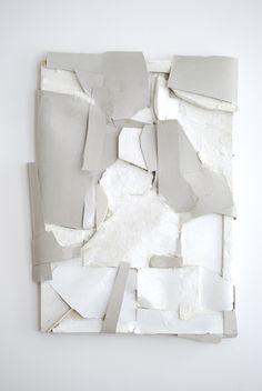 Community for Contemporary Art - Leopold van de Ven Abstract Sculpture, Sculpture Art, Paperclay, Wassily Kandinsky, White Art, White Paper, Installation Art, Textures Patterns, Oeuvre D'art