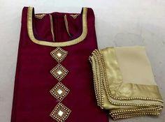 Order contact my whatsapp number 7874133176 Kurtha Designs, Chudidhar Neck Designs, Kids Blouse Designs, Salwar Neck Designs, Kurta Neck Design, Neck Designs For Suits, Dress Neck Designs, Bridal Blouse Designs, Kurti Embroidery Design