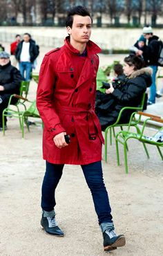 Have almost the same trenchcoat but is Ben Sherman. I like it more now.