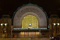 Central railway station/Helsinki