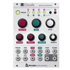 Mutable Instruments Clouds - ヴィンテージシンセ・アナログシンセ・モジュラーシンセの販売と買取 Five G music technology