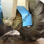 Atlas Mechanical Road sweepers have come with sweeping width of 2.5 meters.