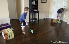 10 Indoor Ball Games for Kids