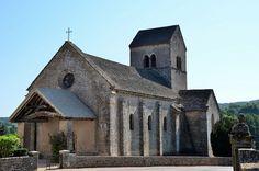 Ozenay (Saône-et-Loire) - Eglise Saint-Gervais et Saint-Protais