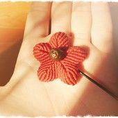 FACIENDO MACRA MACRA ME ME Pinceta de flor con semilla de Aragón