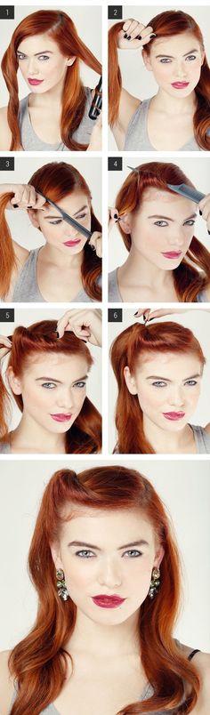 ¡Explicación paso a paso para realizar peinados increíbles en solo 5 minutos! Para ver mas peinados entra a: ►►http://vivisaludable.com/estilos-cabello-tutorial/