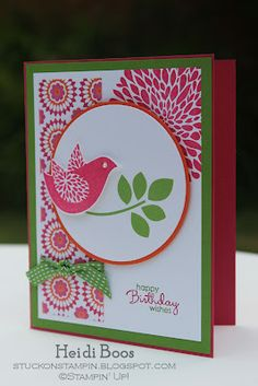 Stuck on Stampin': Betsy's Blossoms