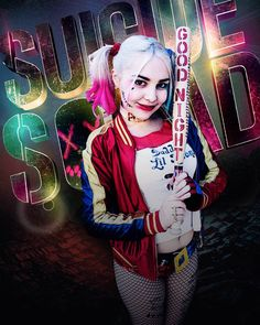 When your friend edits you onto the Suicide Squad poster ^_^ #harleyquinn #suicidesquad