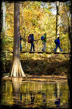 Backpacking Trails in Arkansas State Parks: Cane Creek State Park