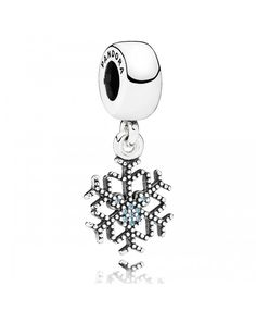 PANDORA Disney Mickey's Sparkling Snowflake with CZ Dangle Is still the most hot products Disney sale.