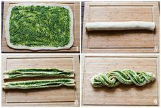 Braided Pesto Bread step-by-step