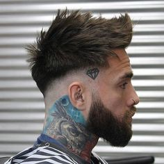 hair and beard styles Popular Curly Hairstyles For Black Men Trendy Mens Hairstyles, Mens Hairstyles With Beard, Hairstyles Haircuts, Haircuts For Men, Faux Hawk Hairstyles, Fringe Hairstyles, Natural Hairstyles, Curly Hair Styles, Hair And Beard Styles