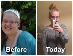 """Abi R. - TRIM HEALTHY TEEN!  """"It's my Trimaversary! I am a 19 year-old Trim Healthy Teen, and I started this plan a year ago after I watched the amazing results that my mom had doing Trim Healthy Mama! www.TrimHealthyMama.com"""