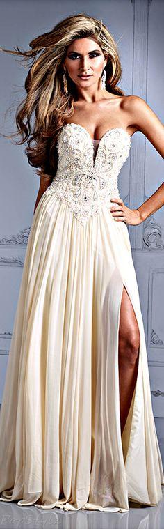 Terani Couture Vanilla Gown